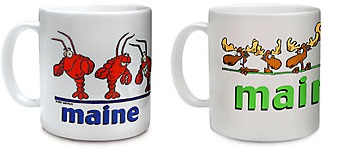 MAINE lobster or moose mug