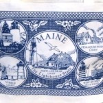 maine lighthouse tote