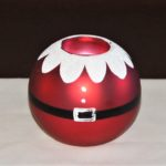 santa suit tealight