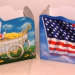 Flag and Baby Carriage Box
