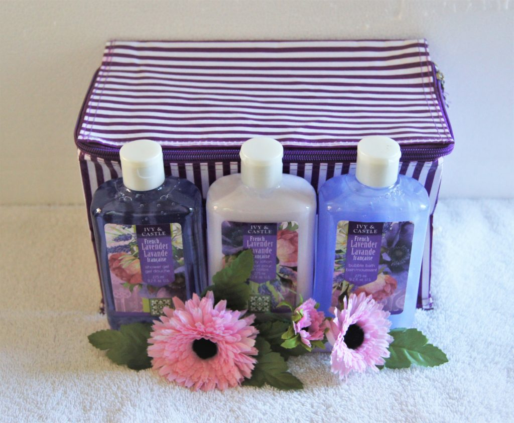 French Lavender Bath and Body Set from Ivy and Castle
