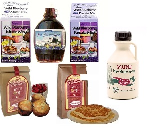 maine mixes and syrups